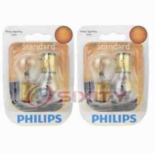 2 pc Philips Rear Turn Signal Light Bulbs for Oldsmobile 88 98 Deluxe 88 rs