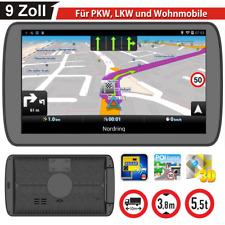 9 pulgadas navegador para camiones automóviles autobús navegación GPS poi blitzer radar mp3