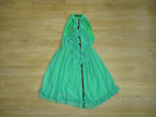 **SIZE 10 EMERALD GREEN DRESS FROM MISO, ZIP DOWN THE FRONT, FRILL DETAIL (14)**
