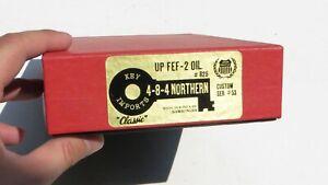 KEY IMPORTS N SCALE UP FEF-2 #825 (OIL VERSION) 4-8-4 SER#53 Steam Locomotive