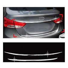 Chrome Rear Trunk Line Garnish Molding Cover for HYUNDAI 2011-2013 Elantra