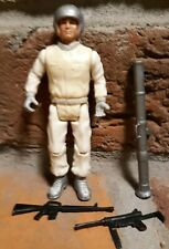 Vintage 1981 Remco DC Comics SGT. ROCK Action Figure SNOW FORCE gun lot bazooka