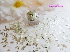NAIL ART * Prosecco Champagne * MYLER in frantumi Fiocchi Mix Taglio POT Spangle Glitter