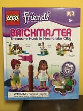 LEGO Friends: Brickmaster Treasure hunt In Heartlake City Book Toy 5+