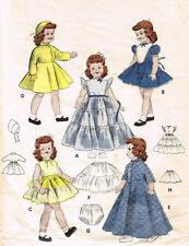 "7156 Vintage Slender Doll Pattern - Size 14"" - Year 1951 Korean War"