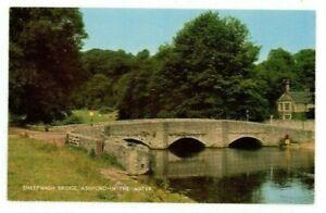 POSTCARD Sheepwash Bridge Ashford in the Water - Unposted