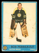 1962 63 TOPPS HOCKEY #2 Bob Perreault vg-ex rookie Boston Bruins RC card