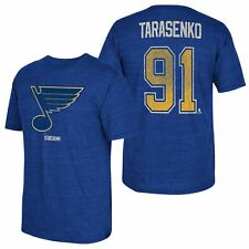 NHL St. Louis Blues CCM Vladmir Tarasenko Tri Blend Name & Number T Shirt Mens