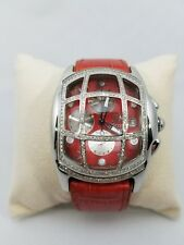 Brand New Techno By JPM 1.25cts 249 Diamond Cage and Bezel Chronograph Watch