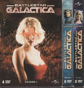 Battlestar Galactica Intégrale Saison 1 +2 + 3 Dvd