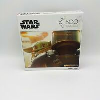Disney Star Wars The Mandalorian The Child 500 Piece Jigsaw Puzzle Baby Yoda NIB