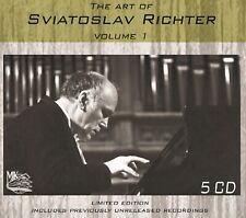 SVYATOSLAV RICHTER The Art of Sviatoslav Richter. Volume 1 5CD BOX LTD ED NEW