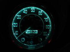 Land Rover Serie 3 SALPICADERO Válvula Bombillas 8x LED BA7S E10 Verde Ajuste