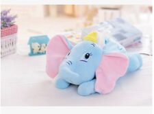 cute Dumbo elephant lying  plush tissue box holder cover L152 decorate