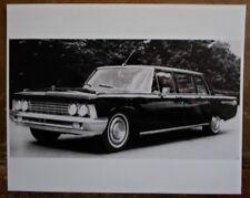 Zil 114 limousine 1970s press photo-brochure reliée -117 111 zim zis 3NA urss