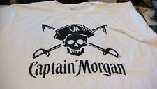 Captain morgan rum T- shirt new captain morgan white rum  ~ ~ SIZE M  T SHIRT