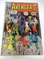THE AVENGERS #91 Marvel (1971) Bronze Age