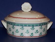 VILLEROY & BOCH ASCOLI CITTA & CAMPAGNA ASCOLI ROUND COVERED VEGETABLE DISH