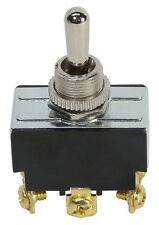 DPDT Heavy Duty Toggle Switch (Center Off Momentary) Part # 605047