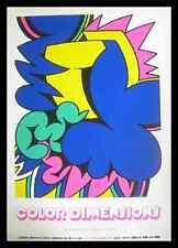 Karl Heinz Fichtholz Color Dimensions Poster Bild Kunstdruck und Rahmen 100x70cm