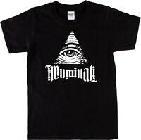 Illuminati T-Shirt - Secret Society, NWO, Conspiracy, S-XXL