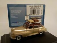 Model Car, DeSoto Suburban 1948 Brown - Gold, 1/87 New Oxford 87DS46003