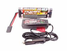 NEW TRAXXAS RUSTLER XL-5 VXL 8.4v 3000MAH POWER CELL iD BATTERY & CHARGER 7 CELL