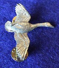Vintage Canada Goose Brooch Pin CG Harris Brand
