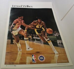 Jamaal Wilkes 1977 Sports Illustrated Poster LA Lakers