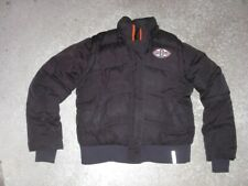 CLEVELAND BROWNS Authentic puffy Jacket w/ removable zip sleeves Women's Small
