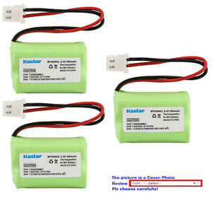 Kastar 2.4V 300mAh Ni-MH Battery for V-Tech BT-183642 BT-283642 2SN2/3AAA40HSX2F