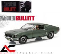 GREENLIGHT 12938V 1:18 1968 FORD MUSTANG GT BULLITT STEVE MCQUEEN DRIVING FIGURE
