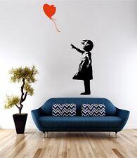 Banksy Balloon Girl Wall Art Sticker Quote Decal Vinyl Transfer