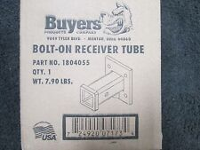 """Buyers Bolt On Receiver Tube, 2"""" Receiver, 1804055"""