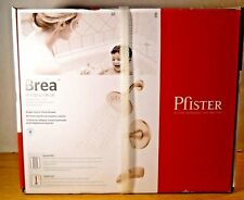 Pfister Brea Brushed Nickel Single-Handle 3-Spray Tub Shower Faucet 8P8-WS2-BRSK