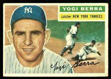 1956 Topps #110 YOGI BERRA (HOF) New York Yankees   VG+