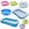 Inflatable Paddling Splash Pool Children Kids Toddler Infant Garden Swimming