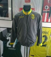 Maillot jersey retro vintage shirt jacket veste vest fc Nantes fcna kappa M
