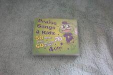 Cd - Praise songs 4 kids - Funky Frog -Sunday School/assembl - 50 songs on 4 cds