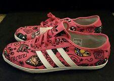 NEW Mens Jeremy Scott x Adidas JS P-Sole Graphic Print Shoes sz 9.5
