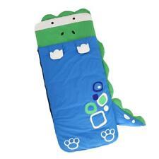 Kids Cartoon Soft Plush Dinosaur sleeping bag Great for sleepovers/camping
