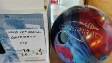USED Radical Conspiracy Hybrid 14LB Bowling Ball