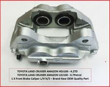 FITS TOYOTA LAND CRUISER AMAZON 4.7/4.2 FRONT BRAKE CALIPER L/H NEW 1998-08/2007