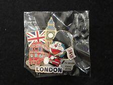 2012 LONDON OLYMPIC MEDIA PIN BADGE JAPANESE TV ASAHI DORAEMON PINS