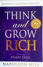THINK AND & GROW RICH Napoleon Hill - AS NEW - The  Millionaires Bible .. BOOK