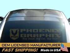 2014 C7 or Z06 Corvette Carbon Fiber Removable Targa Roof Top Panel Decal Stripe