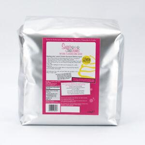 Sugar & Crumbs 2.5kg Lemon Drizzle Natural Flavoured Icing Sugar