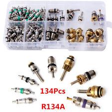 134pc Car A/C System R134A Automotive Air Conditioning Valve Core Assortment Kit