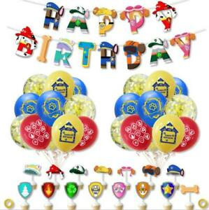 PAW PATROL Printed Latex Balloons Birthday Party Decoration Banner