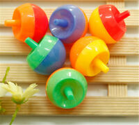 5pcs Kids Plastic Toy Creative Flip Spinning Top Gyro Funny Educational GiftNIC